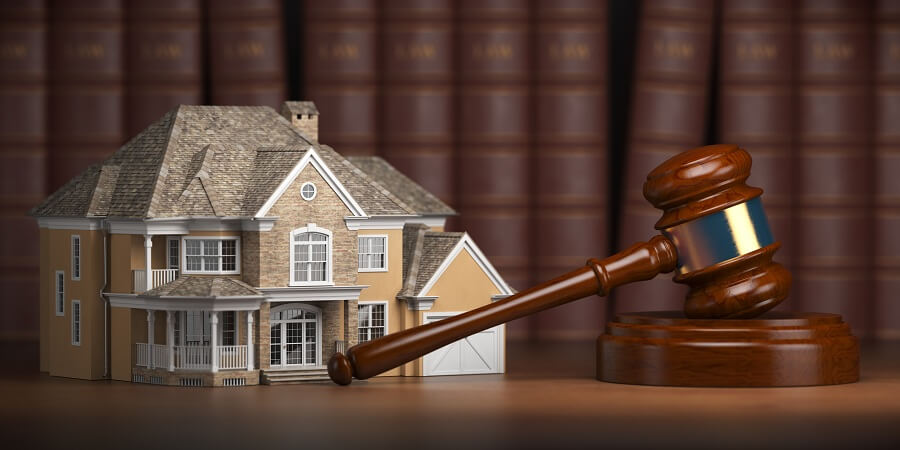real estate and law on property violations